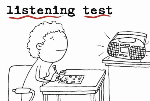 Dành thời gian đọc trước các câu hỏi để nắm sơ lược nội dung bài nghe