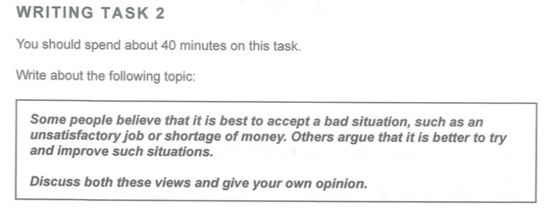 Luyện viết phần Task 2