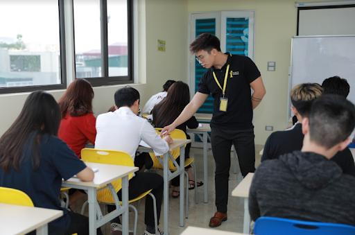 Một buổi test trình độ tiếng Anh tại The IELTS Workshop
