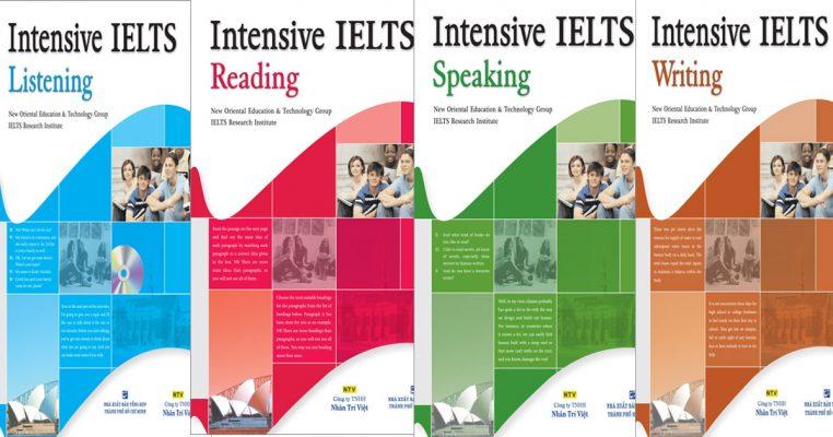 Bộ sách IELTS Intensive IELTS Listening dành riêng cho những bạn muốn chinh phục band điểm 8.0 - 9.0