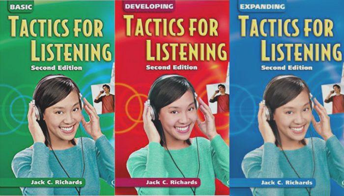 Bộ sách IELTS Tactics for listening giúp bạn rèn luyện kỹ năng nghe từ cơ bản đến nâng cao