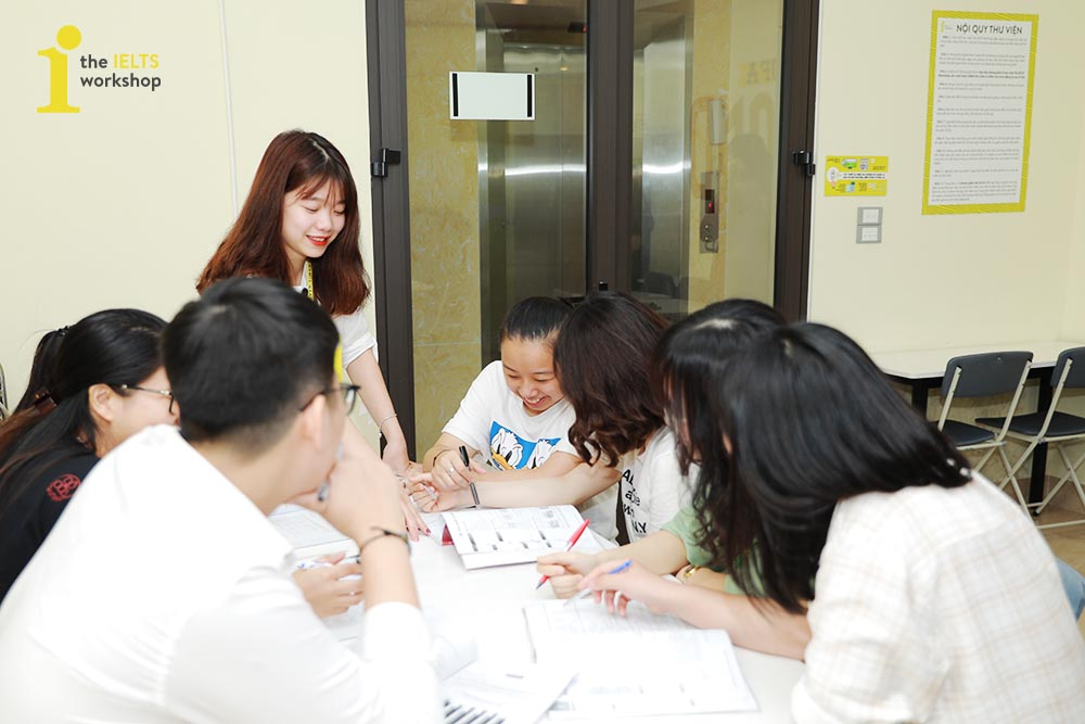 trợ giảng the ielts workshop